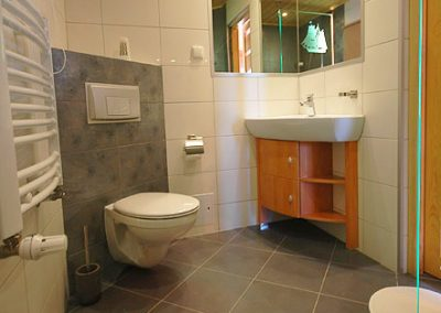 Domek nr 9 łazienka