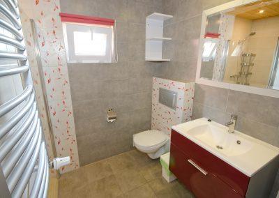 Domek nr 7 łazienka